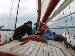 drei generationen an bord