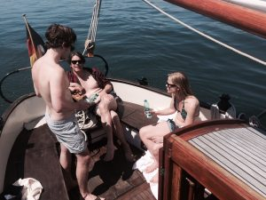 Peter-Maffay-Band: Relaxen bei angenehmer Temperatur