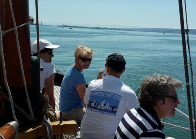 Ausfahrt der WOW-Frauen mit Seewiefke