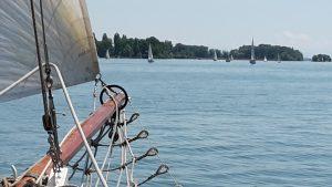 Schöner Blick über den Radolfzeller See