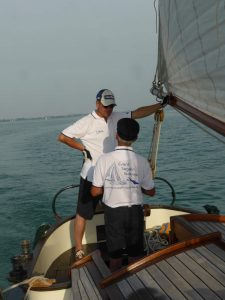 Skipper unter sich