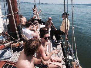 Peter-Maffay-Band auf der Seewiefke
