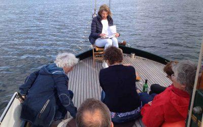 Marion Harder-Merkelbach liest aus dem Medicus vom Bodensee