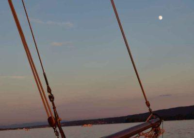 Mond über der Seewiefke