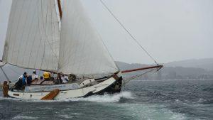 Friesisches Segelboot Seewiefke auf dem Untersee 3-klein